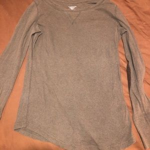 Tops - Long sleeve patch elbow top